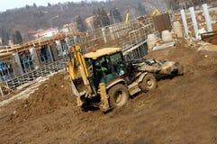 Na construção Fotos de Stock Royalty Free