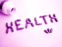 Na cor-de-rosa da saúde Foto de Stock