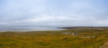 Na costa na maneira atlântica selvagem ireland Imagens de Stock