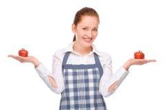 Na cozinha Fotos de Stock