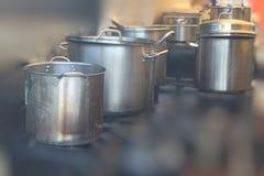 Na cozinha Imagem de Stock Royalty Free