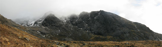 Na Creiche, isola di Skye, Scozia di Coire Fotografia Stock