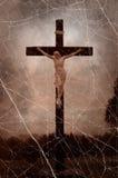 crucifixion foto de stock