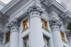 na dach budynku architektury szczególne Zdjęcia Royalty Free