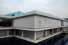 na dach budynku architektury szczególne Krajowy meczet Malezja a K masjid Negara Obraz Stock