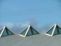 na dachu Obraz Stock