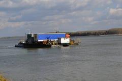 Na Danube promem Zdjęcia Stock
