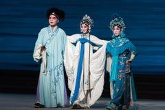 """Na de catastrofe van de bijeenkomst-negende handeling die kom-Kunqu Opera""""Madame Witte Snake† verzegelen Royalty-vrije Stock Afbeeldingen"""