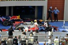 Na de Grand Prix Stock Fotografie
