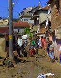 Na de overstroming van Varna Bulgarije 19 Juni Royalty-vrije Stock Afbeelding