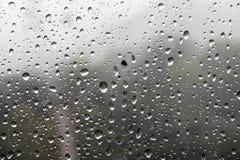 Na de regens stock afbeelding