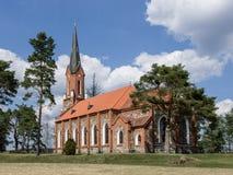 """Na de VelÄ de la iglesia luterana """" Fotografía de archivo libre de regalías"""