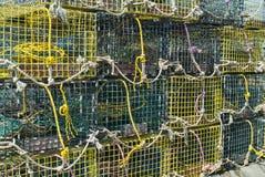 Na Doku homarów Oklepowie Zdjęcie Royalty Free