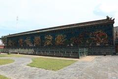 9na Dragon Wall i Datong Royaltyfria Bilder