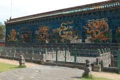 9na Dragon Wall i Datong Arkivbild