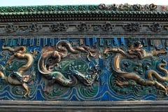 9na Dragon Wall i Datong Royaltyfria Foton