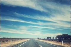 Na drodze zdjęcie stock