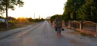 Na drodze Fotografia Stock