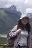 Na drodze azjatyckie kobiety Fotografia Stock