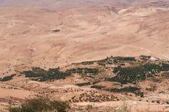 Na drodze góra Nebo, Jordania, Środkowy Wschód Obrazy Stock