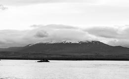 Na drodze, Iceland Fotografia Royalty Free