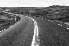 Na drodze, Iceland Zdjęcia Stock