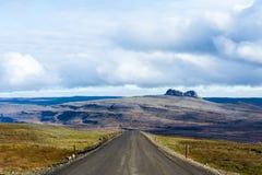 Na drodze, Iceland Zdjęcie Stock