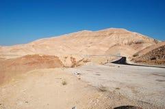 Na drodze Nieżywy morze, Jordania, Środkowy Wschód Obraz Royalty Free