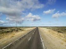 Na drodze - pada w szkle na słonecznym dniu zdjęcia stock