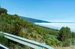 Na drodze Teide obrazy royalty free