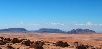 Na drodze wadiego rum, Jordania, Środkowy Wschód Obraz Royalty Free
