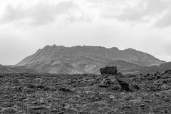 Na drodze, wyspa Fotografia Stock