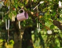 Na drzewie kubka zrozumienie obrazy stock