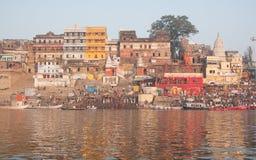 Na dużą skalę Ahilyabai Ghat Obrazy Stock