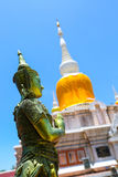 Na Dun pagoda at Maha Sarakham in Thailand. 12-8-15 Royalty Free Stock Photo