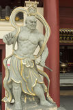 Na entrada no templo budista Fotografia de Stock Royalty Free