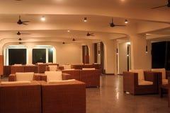 Na entrada para o hotel Imagem de Stock