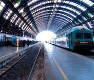 Na estação
