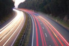 Na estrada Imagem de Stock
