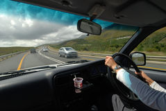 Na estrada Fotografia de Stock Royalty Free