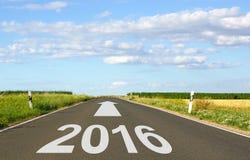 2016 na estrada Fotos de Stock