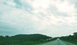 Na estrada Foto de Stock Royalty Free