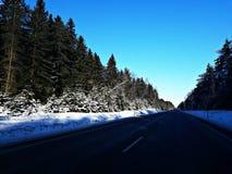Na estrada Foto de Stock