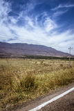 Na estrada fotografia de stock