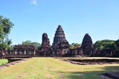 Na estrada a Angkor: Templo de Phimai - Tailândia Imagem de Stock Royalty Free