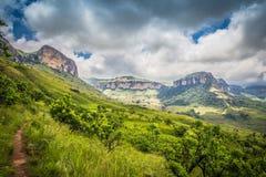 Na estrada a Drakensberg Imagens de Stock