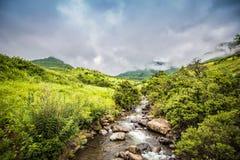 Na estrada a Drakensberg Imagem de Stock