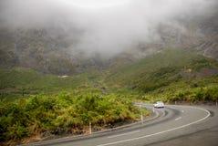 Na estrada a Milford Sound imagem de stock royalty free