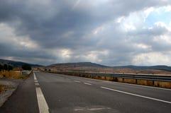Na estrada no sul Imagens de Stock