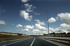 Na estrada outra vez Imagens de Stock